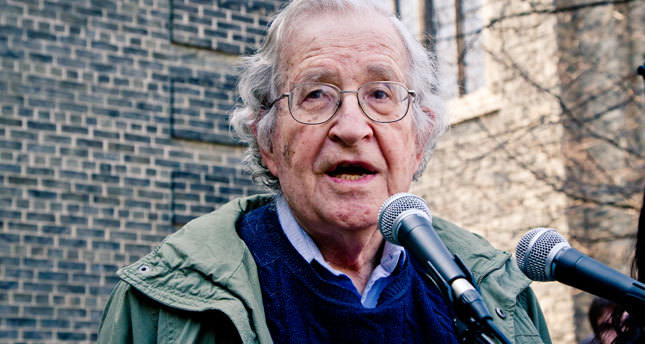 Turkey only country to speak out against Israeli aggression, says Chomsky
