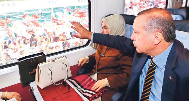High-speed train between Ankara, Istanbul inaugurated