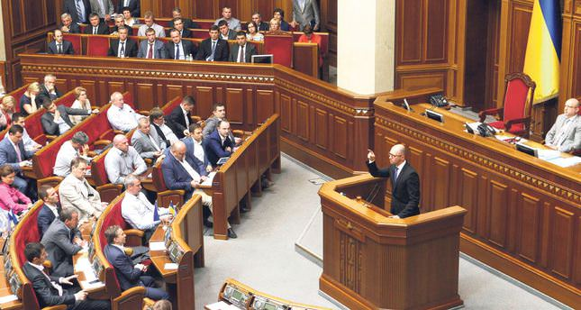 Ukrainian parliament in chaos after Prime Minister resigns