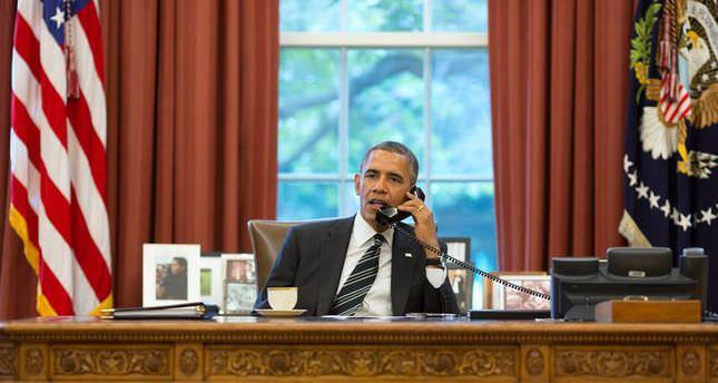 Obama stresses to Netanyahu 'immediate' ceasefire, Hamas disarment later