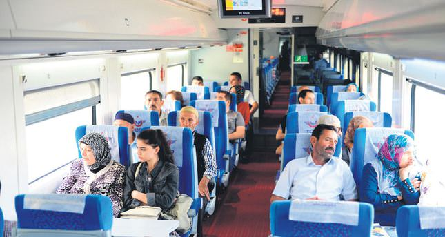 High-speed train begins service