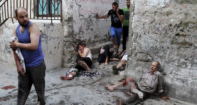 Israeli airstrike on Gaza's Shujaya market kills 17