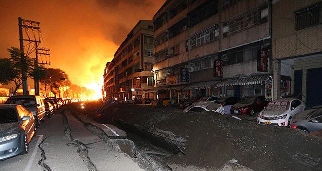 Gas explosions kill 15, injure 228 in Taiwan