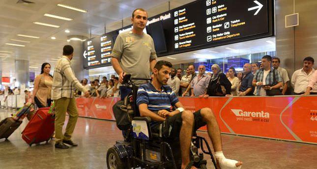 Turkish agency's cameraman hurt in Gaza brought to Turkey