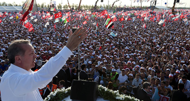 Record participation at Erdoğan's presidential rally with 2.4 M attendees