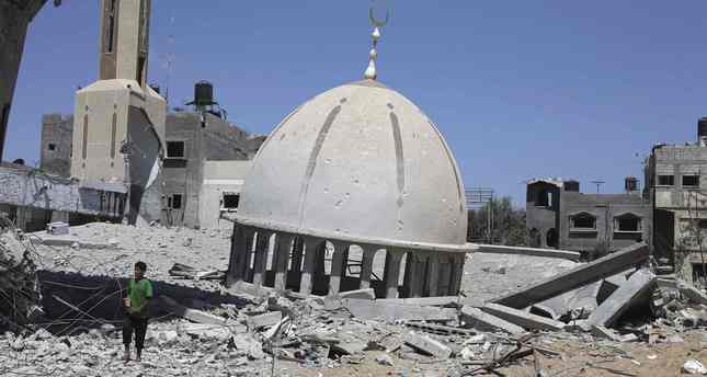 Israel destroyed 60 Gaza mosques: Ministry