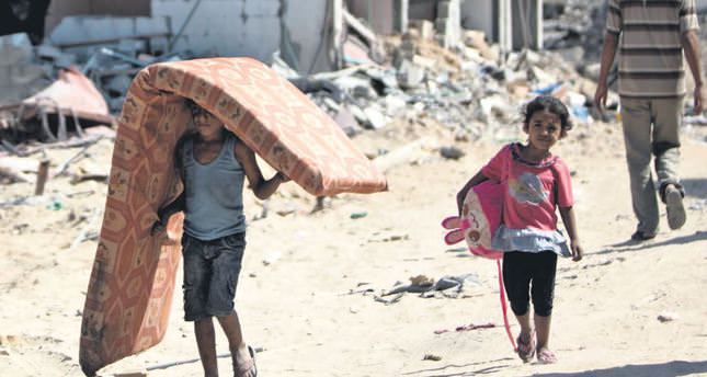 Displaced Palestinians reveals worsening situation in Gaza