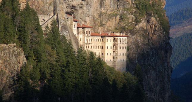 Sümela Monastery ready for Orthodox ritual