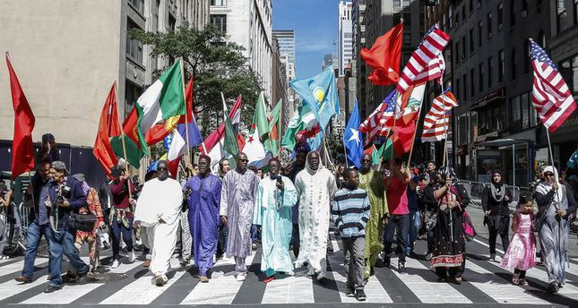 29th annual Muslim day parade in New York