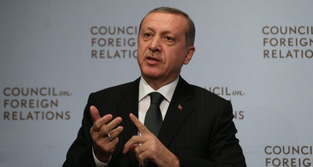 Erdoğan reiterates call for cooperation on Gülenists