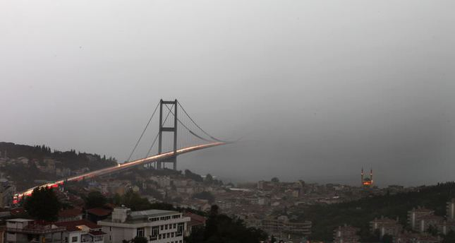 Officials warn against heavy storms in Istanbul after 6 pm