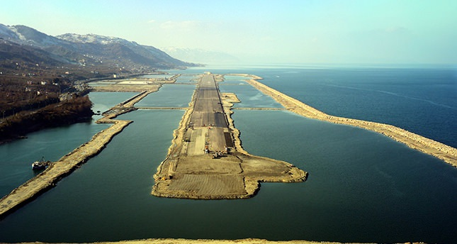 Turkey's first artificial island airport set to open next year