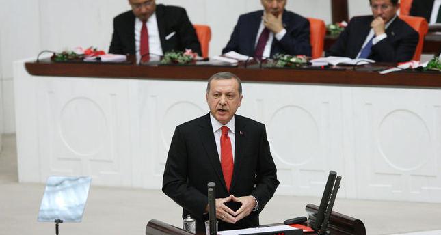President Erdoğan denies claims ISIS encircled Suleiman Shah Tomb