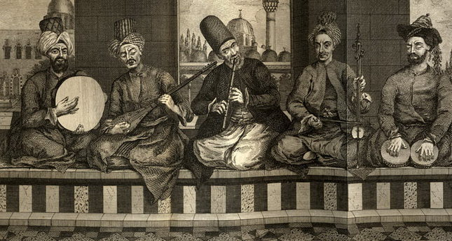 Music as a method of healing in Ottoman times