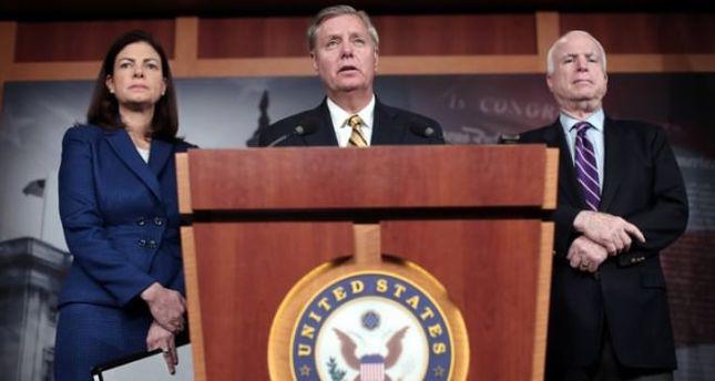US senators agree with Erdoğan that Assad must go
