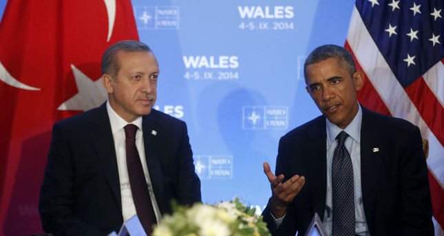 Erdoğan, Obama discuss regional issues, agree to strengthen anti-ISIS fight