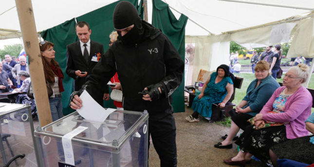 Pro-Russian separatists vote on independence