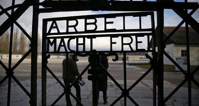 Nazis' Notorious slogan 'Arbeit Macht Frei' stolen from Dachau camp