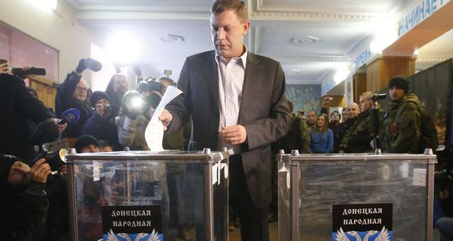 Ukraine's separatist election strains relations between Russia and West