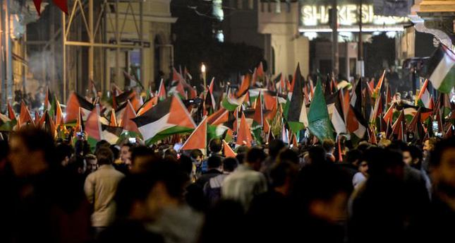 Thousands protest in Turkey against Israeli offensive on Al-Aqsa Mosque