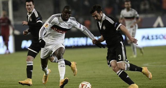 Beşiktaş beats Partizan 2-1 in UEFA Europa League