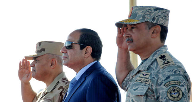 Egyptian students to Sissi: It is not over yet