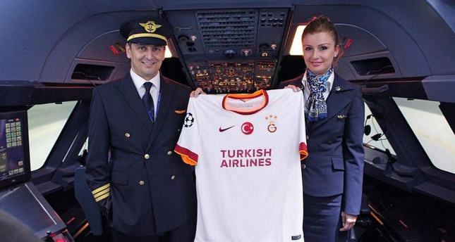 Galatasaray sign sponsorship deal with Turkish Airlines