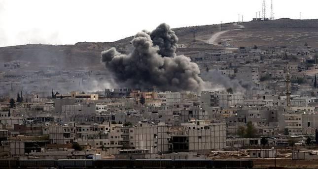 US air strikes target Khorasan Group in Syria