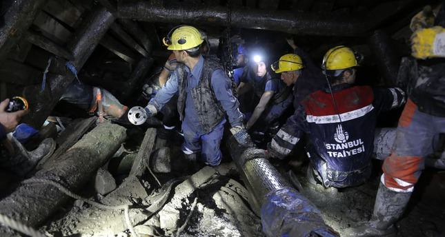 Seven detained, one sought over Turkey mine disaster