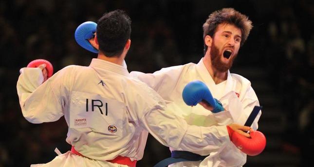 Turkish karateka claims world championship title