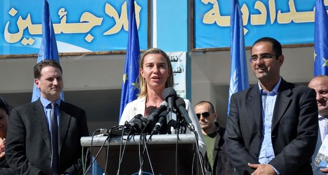 EU foreign chief calls for Palestinian state
