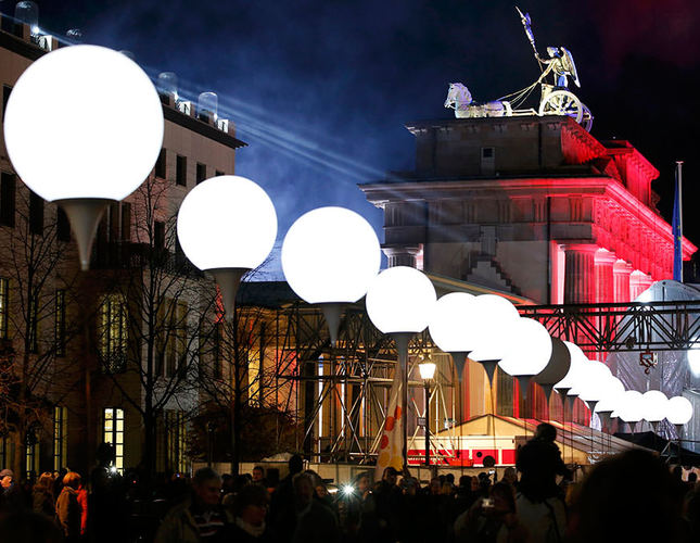 Germany celebrates 25th anniversary of the fall of Berlin Wall