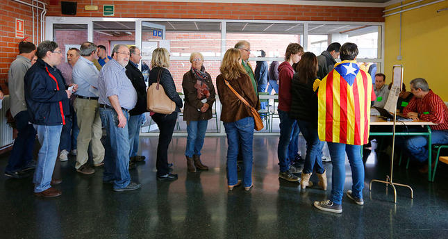 Pass the salt, not the politics: Catalan families split over independence