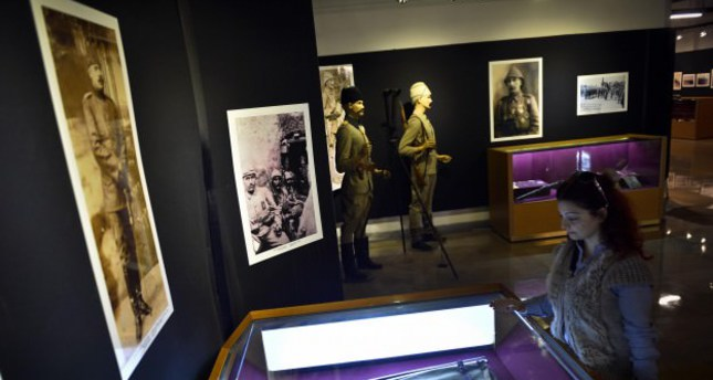 First World War exhibition opens in Istanbul