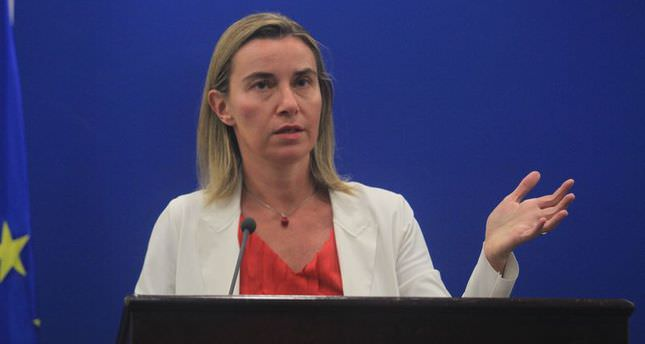 EU's foreign policy chief calls on Russia to withdraw its troops from Ukraine