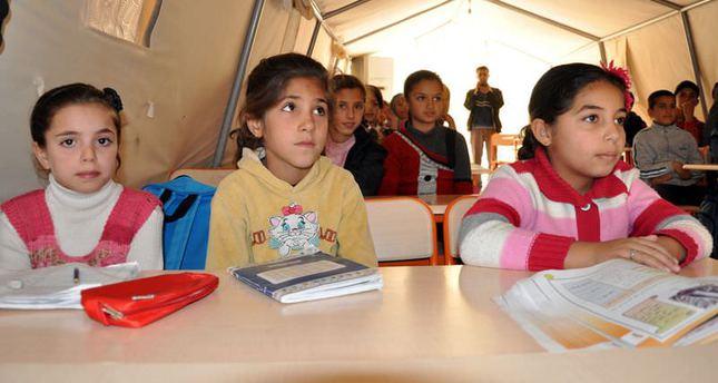 Turkey provides education for Syrian refugee children