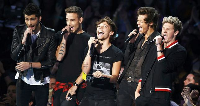 One Direction big winner at the 20th annual MTV Europe Music Awards