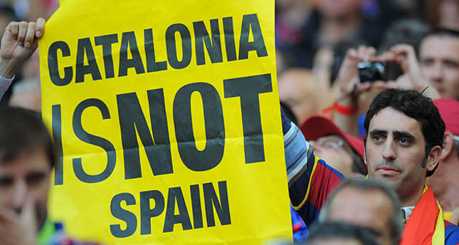 Catalonia's secessionist drive vetoed by Spain and EU