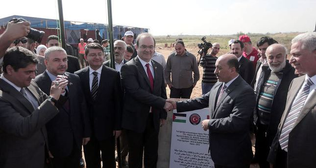 Turkish Coop. Agency launches Gaza housing project