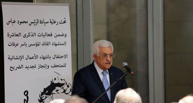 Israel igniting 'religious war', says Abbas