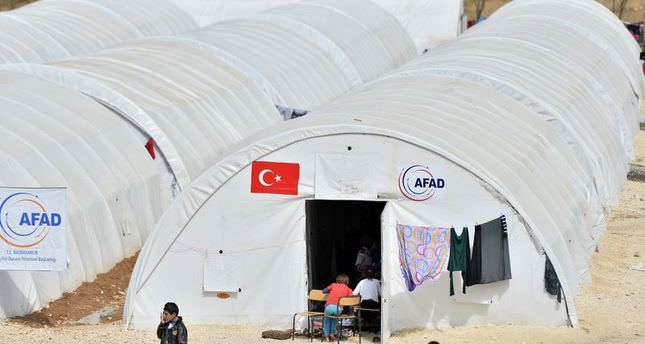 A new camp to be set up for displaced Syrians