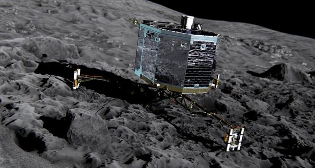 Rosetta mission: Europe makes space history by landing probe on comet