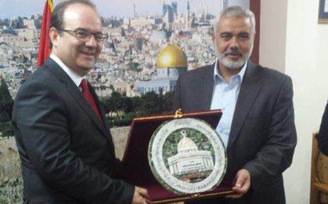 Haniyeh says Hamas determined on Palestinian unity government
