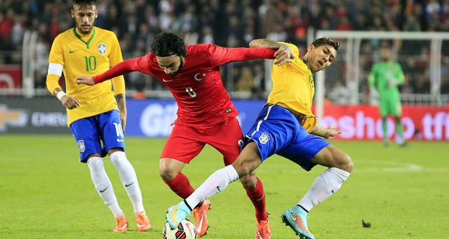 Brazil take friendly match with Turkey, 4-0