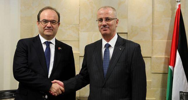 Palestinian PM Hamdallah praises TİKA's projects