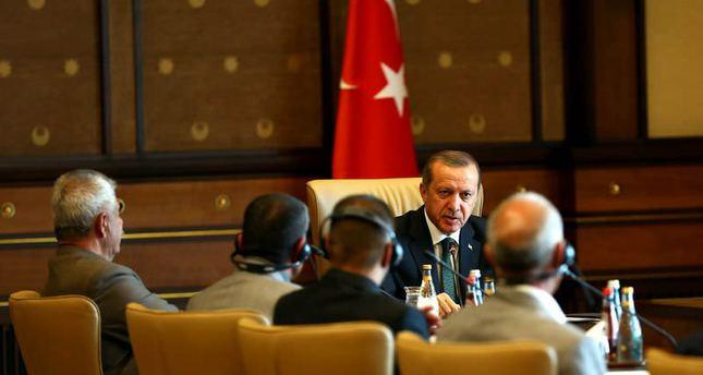 President Erdoğan meets with Iraqi Yazidis fleeing ISIS, stresses Turkey's helping hand