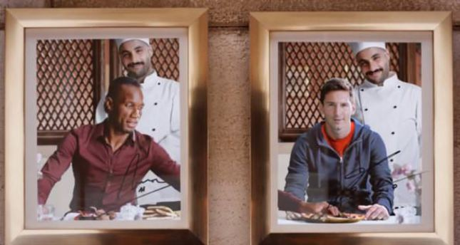 Messi and Drogba star in new Turkish Airlines commercial