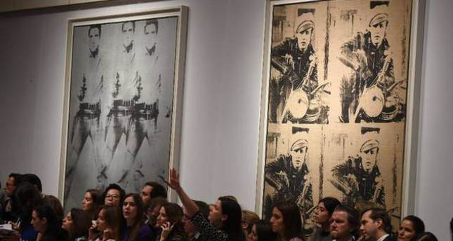 Andy Warhol artwork fetches $151 million at New York auction