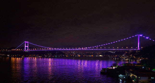 Bosporus Bridge to be lit in purple on Prematurity Day