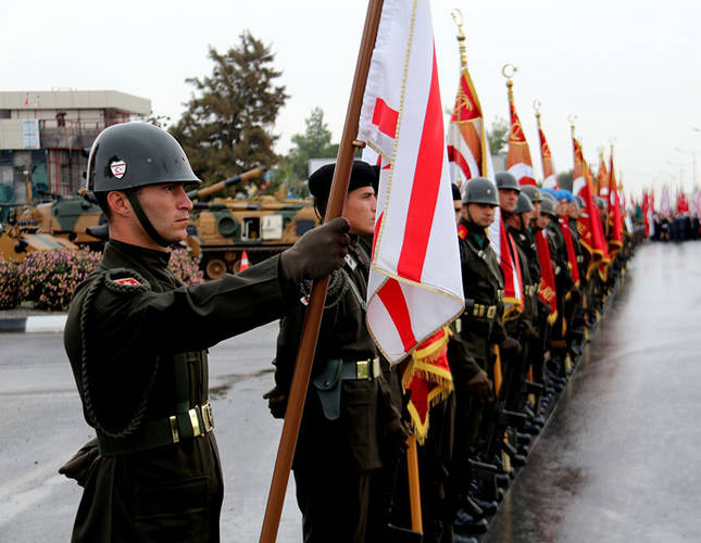 Turkish Cypriots celebrate 31st anniversary of the Republic